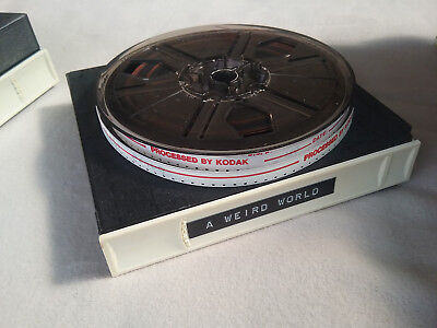 "Vintage Collectable Super 8 Film ""A Weird World"""