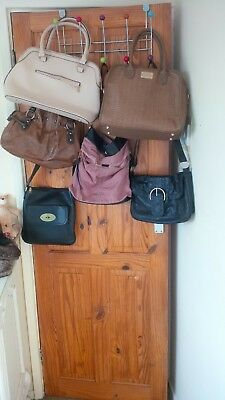 job lot of 6 medium sized ladies bags, a couple never used.