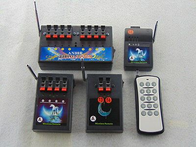 Music Smart switch 15 Cues smart Remote fireworks firing system wireless control