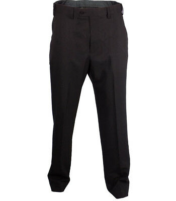 """Marks /& Spencer Men/'s Black Crease Resistant Trousers Easy Care W 44/"""" L33/"""""""