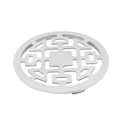 Bathroom Stainless Steel Round Water Flow Outlet Hair Filter Floor Drain Cover