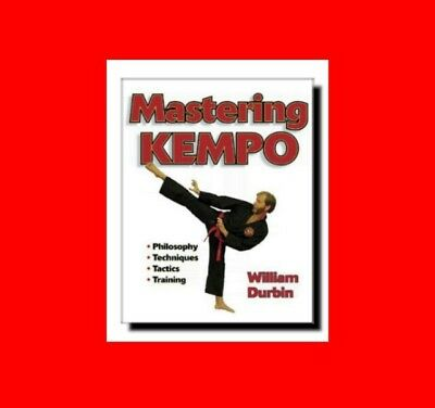 ☆Martial Arts Book:mastering Kempo(Kenpo)Karate:techniques+Tactics+Training%phil