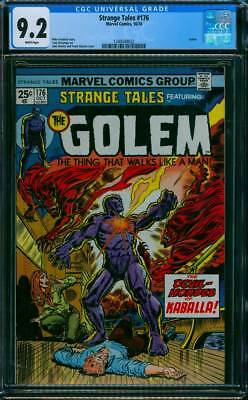 Strange Tales # 176  The Devil-Hordes of Kaballa !   CGC 9.2  scarce book !
