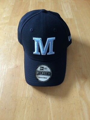 finest selection 498bb 06c31 University Of Maine New Era The League Navy 9Forty Adjustable Hat