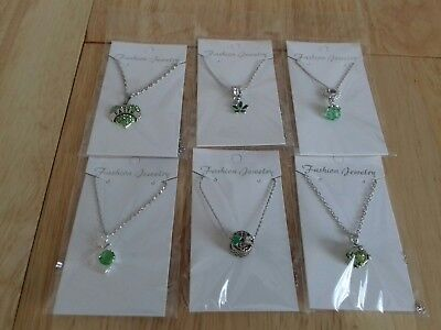 Joblot 6 New Items Of Fashion Jewellery Necklaces