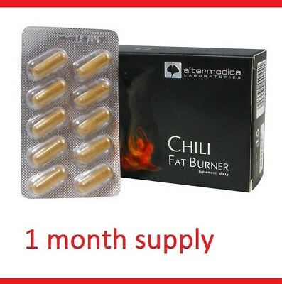 STRONG 2-in-1 SEX DRIVE Chili Capsicum Libido BOOSTER Weight Loss Pills Tablets