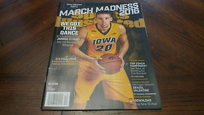 Brand New Ncaa University Of Iowa Hawkeyes March Madness Sports Illustrated