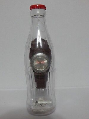 2002 Coca Cola Battery Operated  Watch New In Plastic Bottle Package Style 3