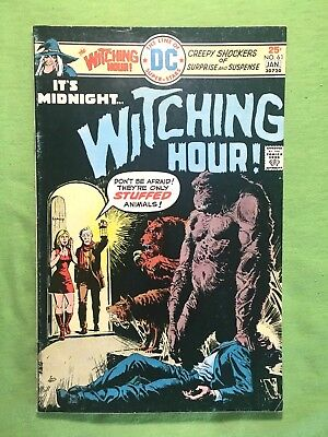 The Witching Hour Comic Book #61 DC Comics 1976 F