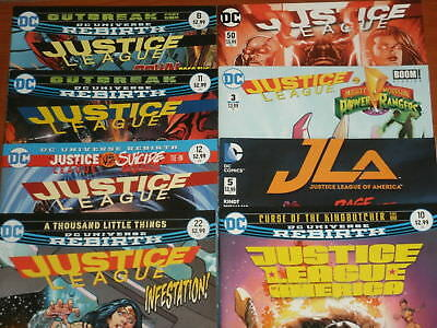 DC Comics JUSTICE LEAGUE OF AMERICA, JLA, REBIRTH, BATMAN, FLASH (YOU CHOOSE!)