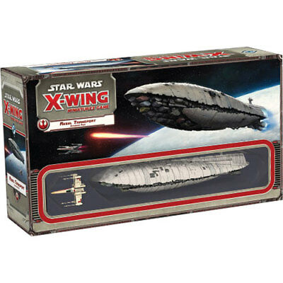 Star Wars - X-Wing Miniatures Game - Rebel Transport Expansion Pack NEW