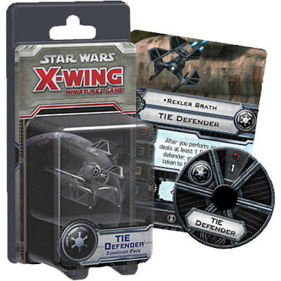 Star Wars - X-Wing Miniatures Game - TIE Defender Expansion Pack NEW