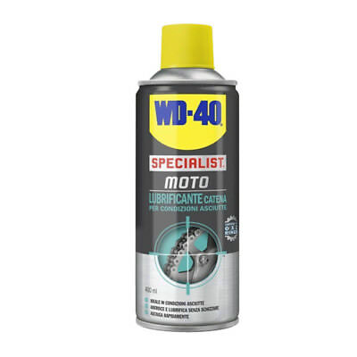 Wd-40 Wd40 Specialist Moto Lubrificante Catena 400 Ml Spray O-X-Z Rings