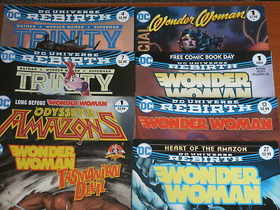 DC Comics Rebirth: WONDER WOMAN, AMAZONS, TRINITY, BATMAN, SUPERMAN (YOU CHOOSE)
