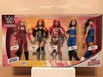 """WWE Superstars 12"""" Fashion Doll Collection Set Action Figures Play Set Wrestle"""