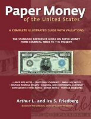 Paper Money of the United States By Friedberg, 21st Edition SOFTBOUND, NEW!!!