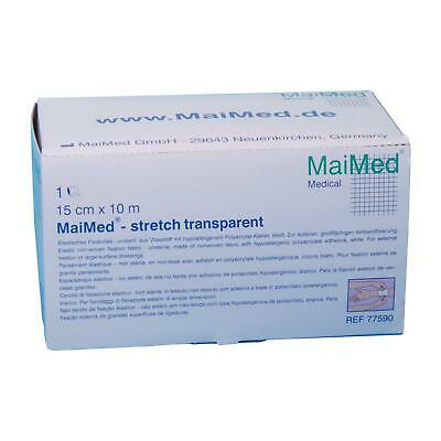 MaiMed stretch transparent Fixierfolie Folienverband Duschpflaster Verband Folie