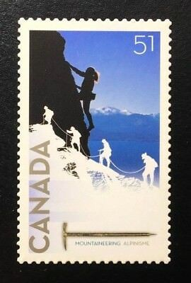 Canada #2162i Die Cut MNH, Mountaineering Centenary Stamp 2006
