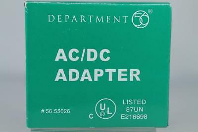 Dept 56 Village Accessory 'AC/DC Adapter' #56.55026 New In Box