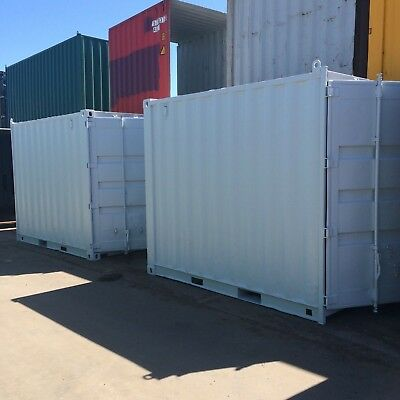 HIRE 10ft / 3m long approx 8'6 High shipping container / Portable storage shed