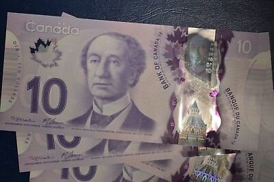 Canada Series 2013 Polymer Banknote $10 - UNCIRCULATED