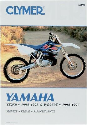 clymer m498 service repair manual for yamaha yz250 wr250z rh picclick co uk Clymer Manuals XL75 Clymer Freeride