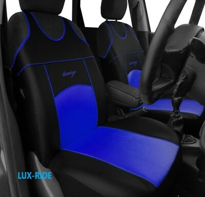Peugeot 207 2006-2012 Front Seat Covers Vest T-Shirt Eco Leathers