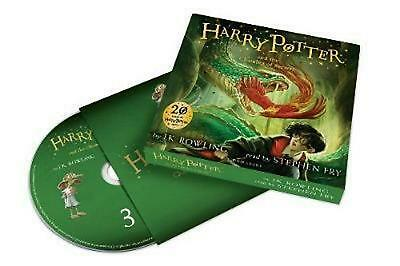 Harry Potter and the Chamber of Secrets by J.K. Rowling Compact Disc Book Free S