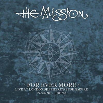The Mission - For Ever More Live At London Shepherd's Bush Empire (2008) [CD]