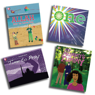 4x Islamic/Muslim Children's Books, One, Time to Pray, Allah.. by Suzanne Stone