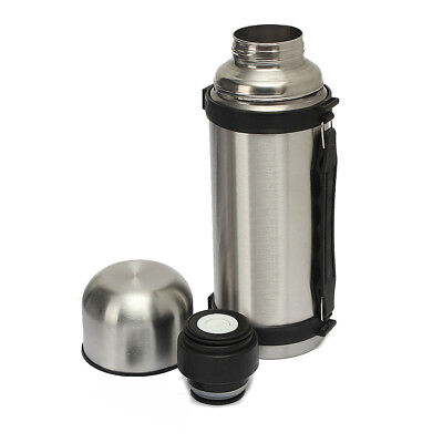 32 Oz Stainless Steel Vacuum Thermos Portable Insulated Travel Flask Bottle 1.2L