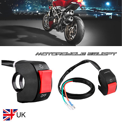 Universal Motorcycle Handlebar on/off light switch