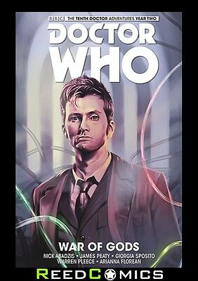 DOCTOR WHO 10TH DOCTOR VOLUME 7 WAR OF GODS HARDCOVER Collects YEAR TWO #15-17