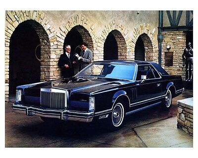 1979 Lincoln Continental Mark V Versailles Factory Photo ca9497