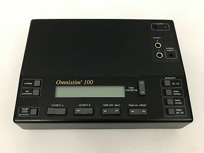 OMNISTIM 100 Accelerated Care Electrotherapy System Machine Tens Unit 100100