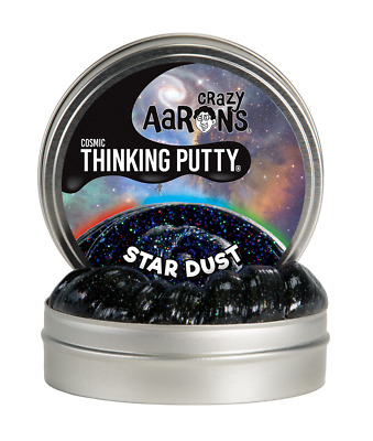 Crazy Aaron's Thinking Putty, STAR DUST, Cosmic, 10cm Tin (New for 2017)