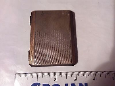 Sterling Silver Hallmarked Compact - 121.6 Grams