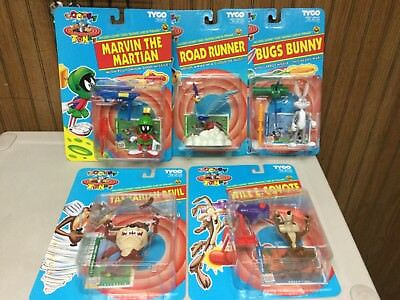 1993 tyco Looney Tunes Marvin The Martian full set of 5 CASE FRESH WOW