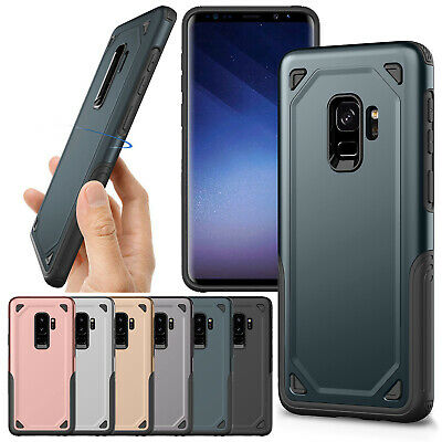 Hybrid Rubber Rugged Armour Tough Phone Case Cover For Samsung S9 J6 A8 Note 9