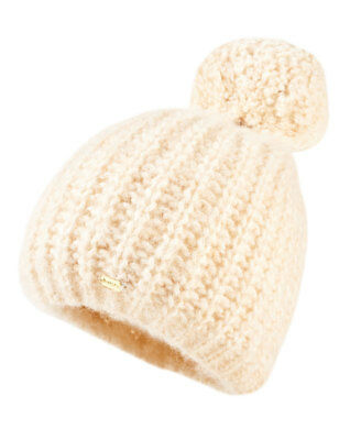 New Womens Superdry Super Luxe Beanie Washed Caramel