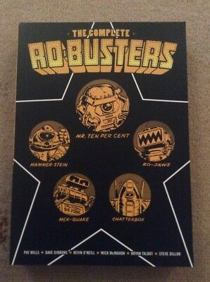 2000 AD Starlord The Complete Ro-Busters Graphic Novel - Mills Gibbons O'Neill