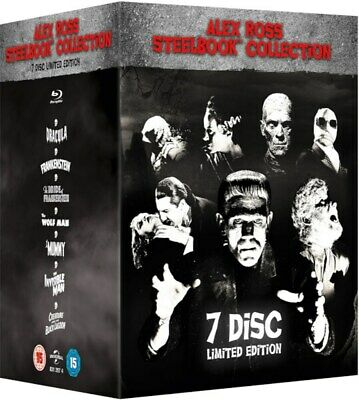 Universal Classic Monsters: Alex Ross Collection (Limited Edition Steelbook Bo