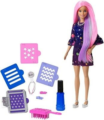 Barbie Haarfarben Spass Puppe