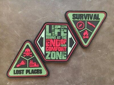 Fritz Meinecke Patches End of the comfort zone EDC Patch