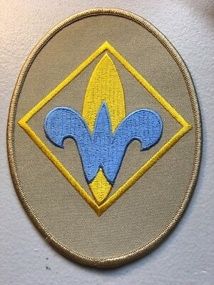 Boy Scouts of America BSA Webelos Rank Emblem Extra Large Patch Cub Scouts