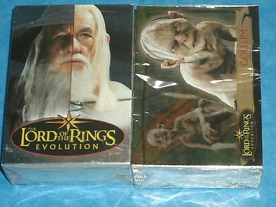 The Lord Of The Rings 'EVOLUTION' Complete Base Set of 72 All-Foil Trading Cards