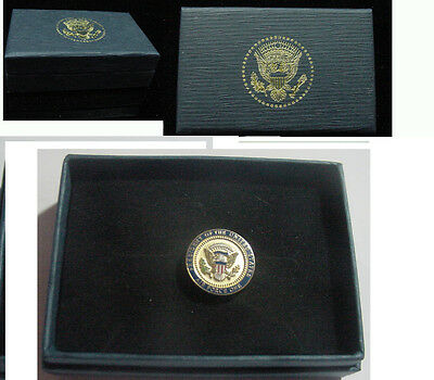 Presidential George H. B. Bush  Airforce One Lapel Pin   AF-1