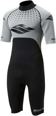 Slippery Wetsuits - Men's BREAKER Spring Suit (Black/Silver) L (Large)