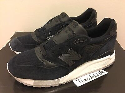 premium selection c465e 7cf69 DS NEW BALANCE 998 sz5.5 Black/Grey Kith Ronnie Fieg Made in USA M998NJ