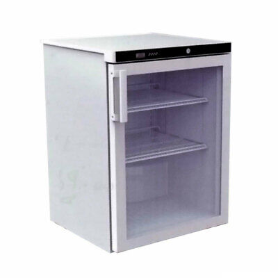 Bar Fridge Glass Reversible Door 180L Display Refrigeration Undercounter Drinks